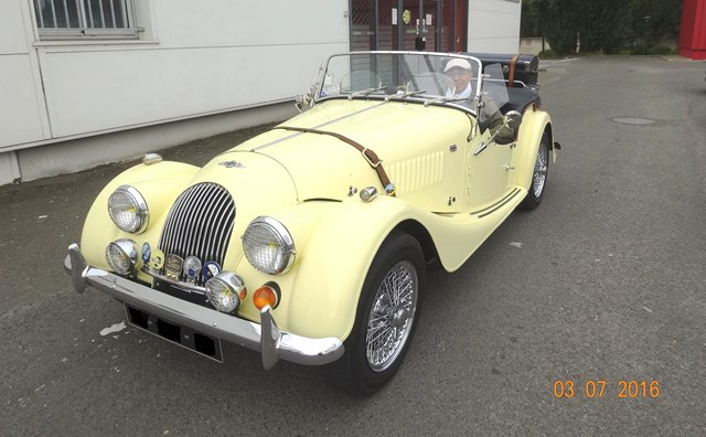 morgan voiture anglaise